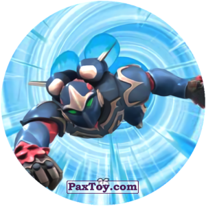 PaxToy.com  Карточка / Card, Фишка / POG / CAP / Tazo 36 ZEFYR из Chipicao: GORMITI