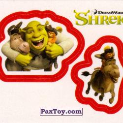 PaxToy 36a Раздельный стикер   Шрек и Друзья