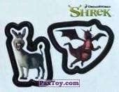 PaxToy 39a Раздельный стикер   Осел и Дракон