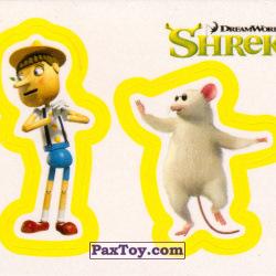 PaxToy 40a Раздельный стикер   Пиноккио и Слепая Мышь