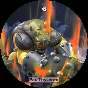 PaxToy.com  Карточка / Card, Фишка / POG / CAP / Tazo 42 HAVOK из Chipicao: GORMITI