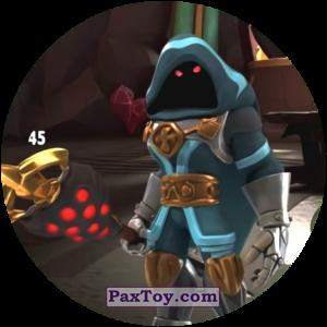 PaxToy.com  Карточка / Card, Фишка / POG / CAP / Tazo 45 XATHOR из Chipicao: GORMITI
