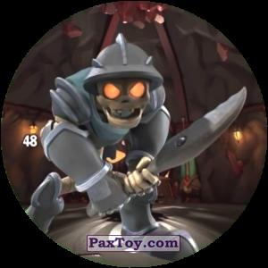 PaxToy.com  Карточка / Card, Фишка / POG / CAP / Tazo 48 CRYPTUS из Chipicao: GORMITI