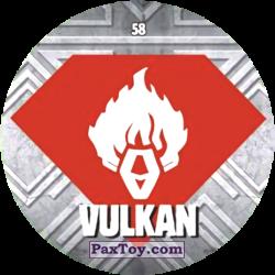 PaxToy 58 VULKAN logo