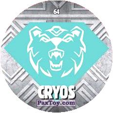 PaxToy 64 CRYOS logo