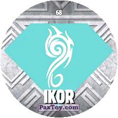 68 IKOR logo