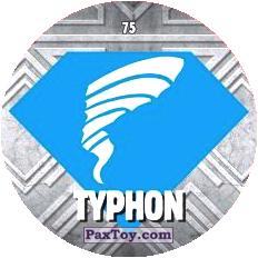 75 TYPHON logo