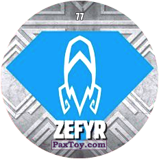PaxToy 77 ZEFYR logo