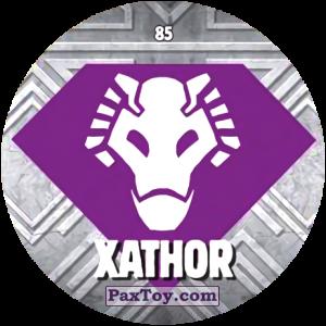 PaxToy.com  Карточка / Card, Фишка / POG / CAP / Tazo 85 XATHOR из Chipicao: GORMITI