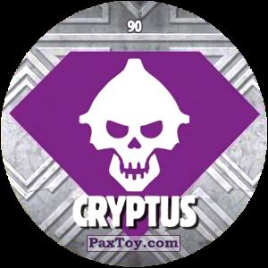 PaxToy.com  Карточка / Card, Фишка / POG / CAP / Tazo 90 CRYPTUS из Chipicao: GORMITI