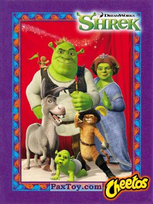 PaxToy Cheetos: Shrek the Third Stickers