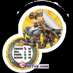 PaxToy Фишка со стикером  2021 Gormiti   01
