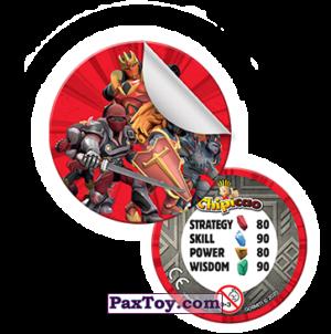 PaxToy Фишка со стикером  2021 Gormiti   02