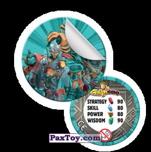 PaxToy Фишка со стикером  2021 Gormiti   04