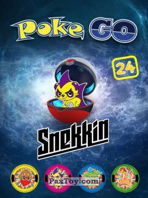 PaxToy Snekkin: Фишки Poke Go
