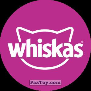 PaxToy.com - Игрушка 03 Бравл - Whiskas (Сторна-back) из Пятерочка: Бравлы Старс