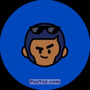 PaxToy.com - 04 Бравл - Брок стрелок (Сторна-back) из Пятерочка: Бравлы Старс