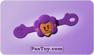PaxToy.com  Игрушка 06 Бравл - Шелли воин из Пятерочка: Бравлы Старс