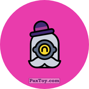 PaxToy.com - Игрушка 09 Бравл - Барли метатель (Сторна-back) из Пятерочка: Бравлы Старс