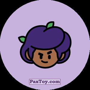 PaxToy.com - Игрушка 10 Бравл - Роза тяжеловес (Сторна-back) из Пятерочка: Бравлы Старс