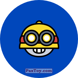 PaxToy.com - Игрушка 11 Бравл - Карл воин (Сторна-back) из Пятерочка: Бравлы Старс