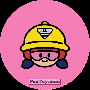 PaxToy.com - Игрушка 12 Бравл - Джеки тяжеловес (Сторна-back) из Пятерочка: Бравлы Старс