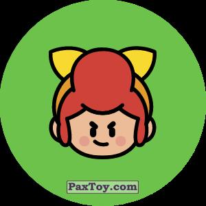 PaxToy.com - Игрушка 13 Бравл - Пэм поддержка (Сторна-back) из Пятерочка: Бравлы Старс