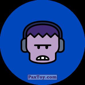 PaxToy.com - Игрушка 14 Бравл - Фрэнк тяжеловес (Сторна-back) из Пятерочка: Бравлы Старс
