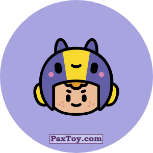 PaxToy.com - Игрушка 15 Бравл - Беа стрелок (Сторна-back) из Пятерочка: Бравлы Старс