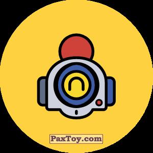 PaxToy.com - 16 Бравл - Нани воин (Сторна-back) из Пятерочка: Бравлы Старс