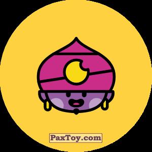 PaxToy.com - 18 Бравл - Джин поддержка (Сторна-back) из Пятерочка: Бравлы Старс