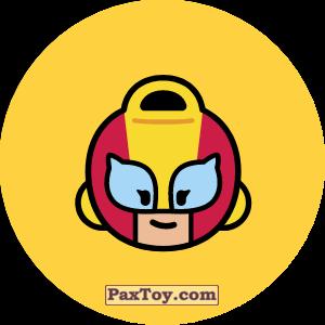 PaxToy.com - Игрушка 19 Бравл - Макс поддержка (Сторна-back) из Пятерочка: Бравлы Старс