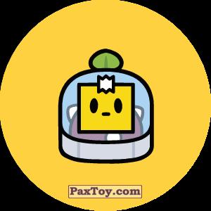 PaxToy.com - Игрушка 22 Бравл - Спраут поддержка (Сторна-back) из Пятерочка: Бравлы Старс