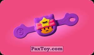 PaxToy.com  Игрушка 26 Бравл - Сэнди поддержка из Пятерочка: Бравлы Старс