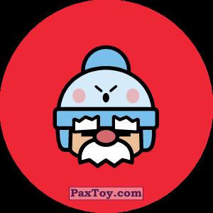 PaxToy.com - 27 Бравл - Гэйл поддержка (Сторна-back) из Пятерочка: Бравлы Старс