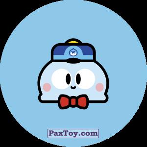 PaxToy.com - 29 Бравл - Лу поддержка (Сторна-back) из Пятерочка: Бравлы Старс